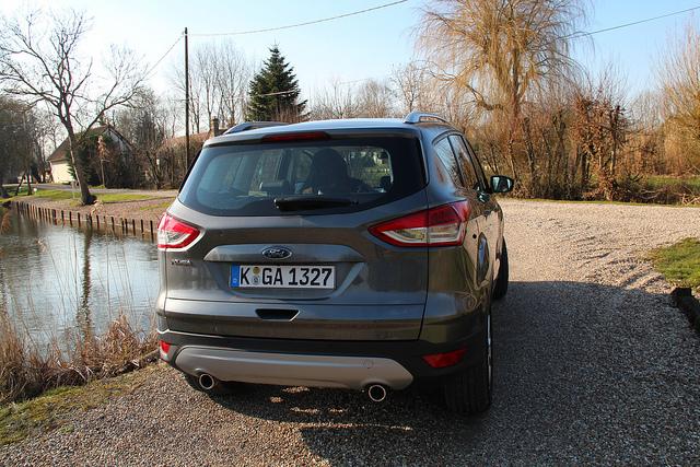 Ford Kuga 2013 тест драйв