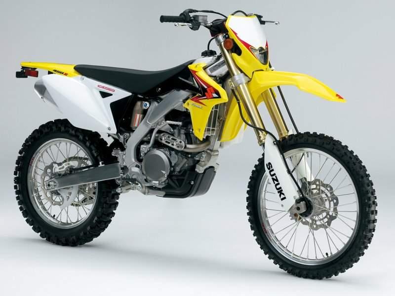 Тест Suzuki RMX 450Z