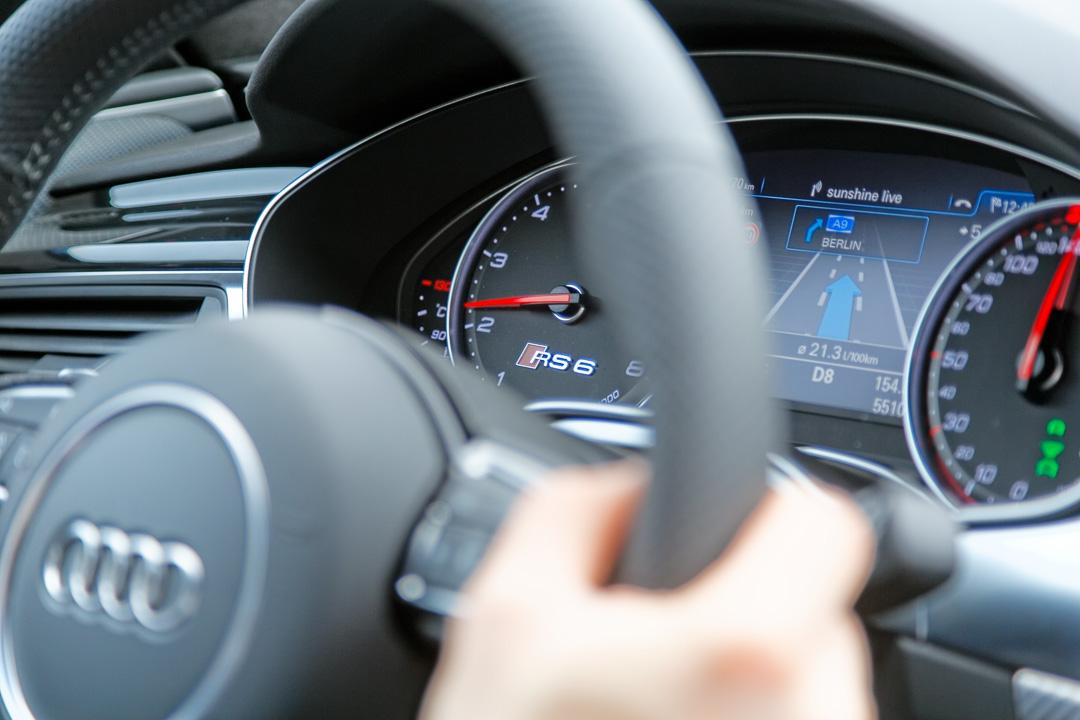 Тест Audi RS6 Avant