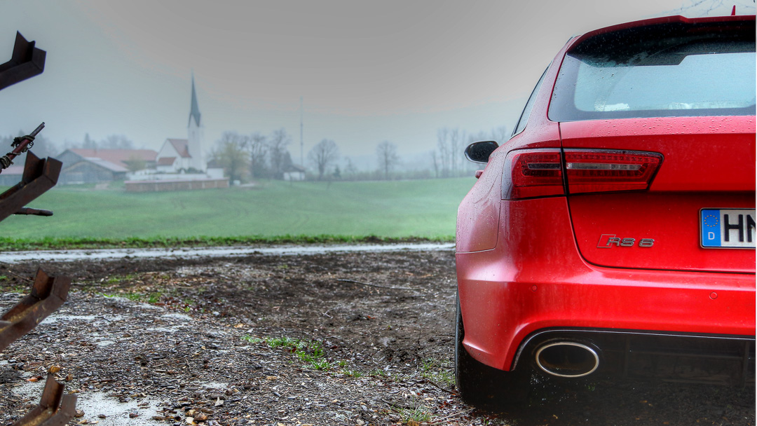 Тест Audi RS6 Avant 2013