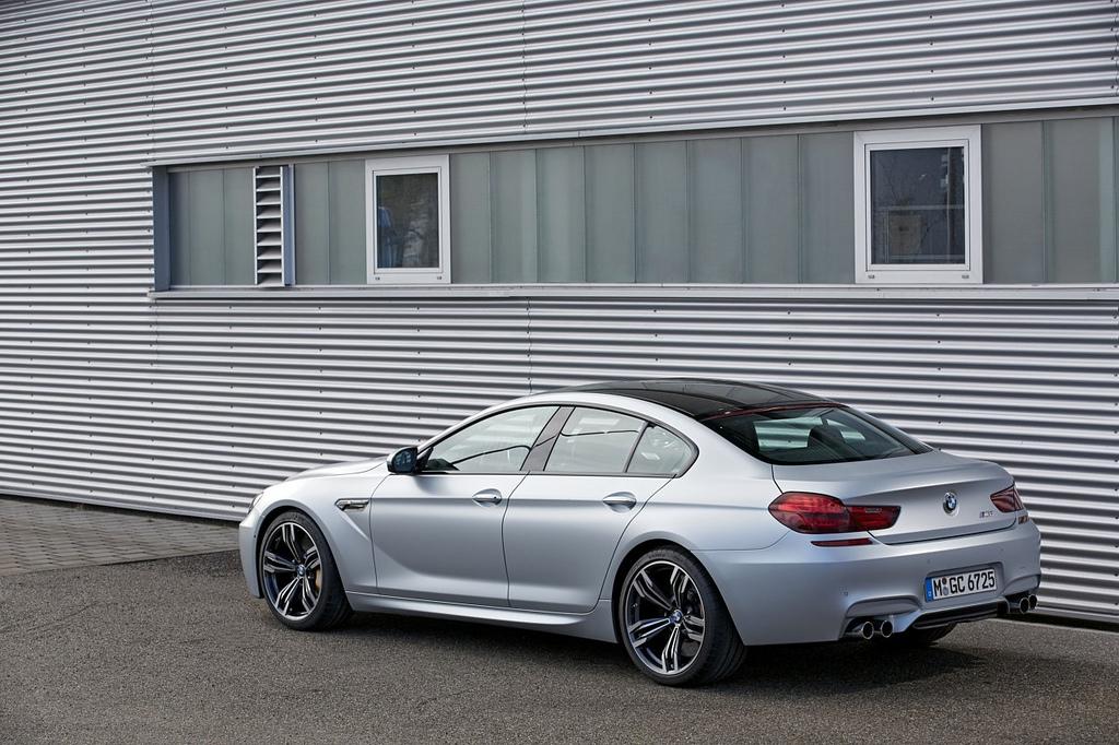 Тест BMW M6 Gran Coupe