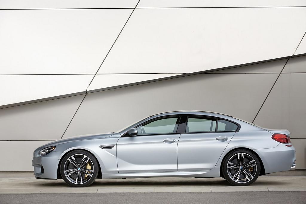 драйв BMW M6 Gran Coupe