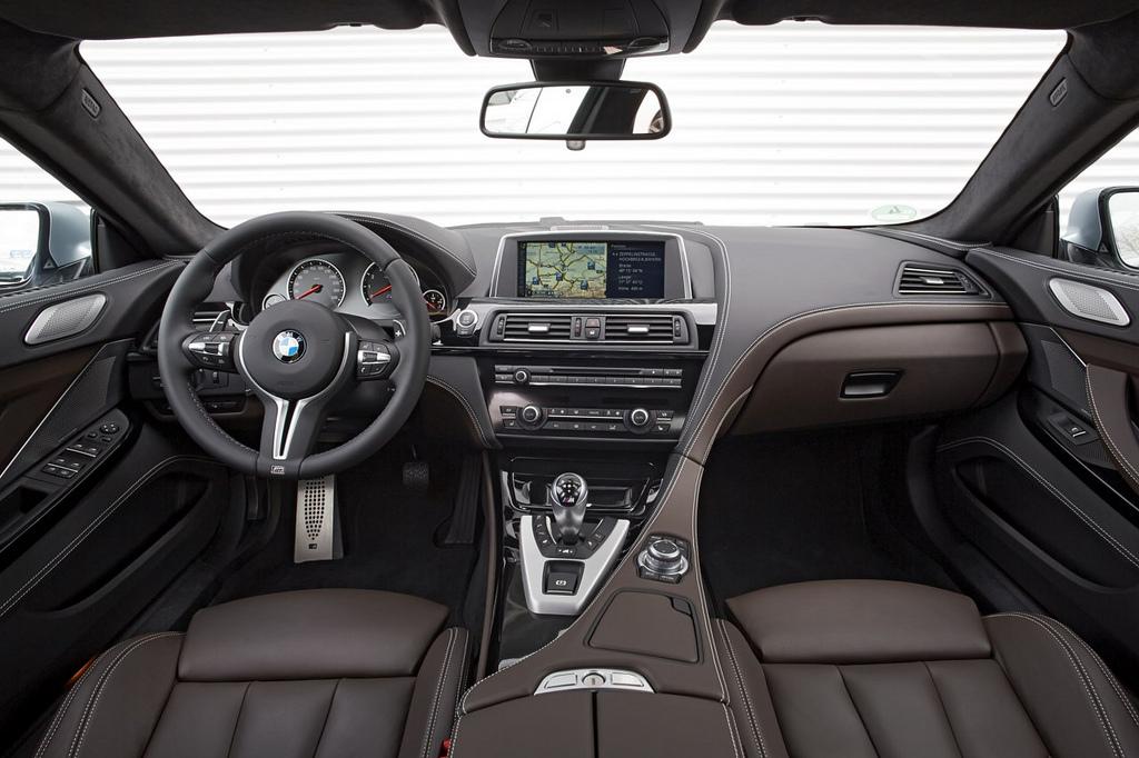 салон BMW M6 Gran Coupe