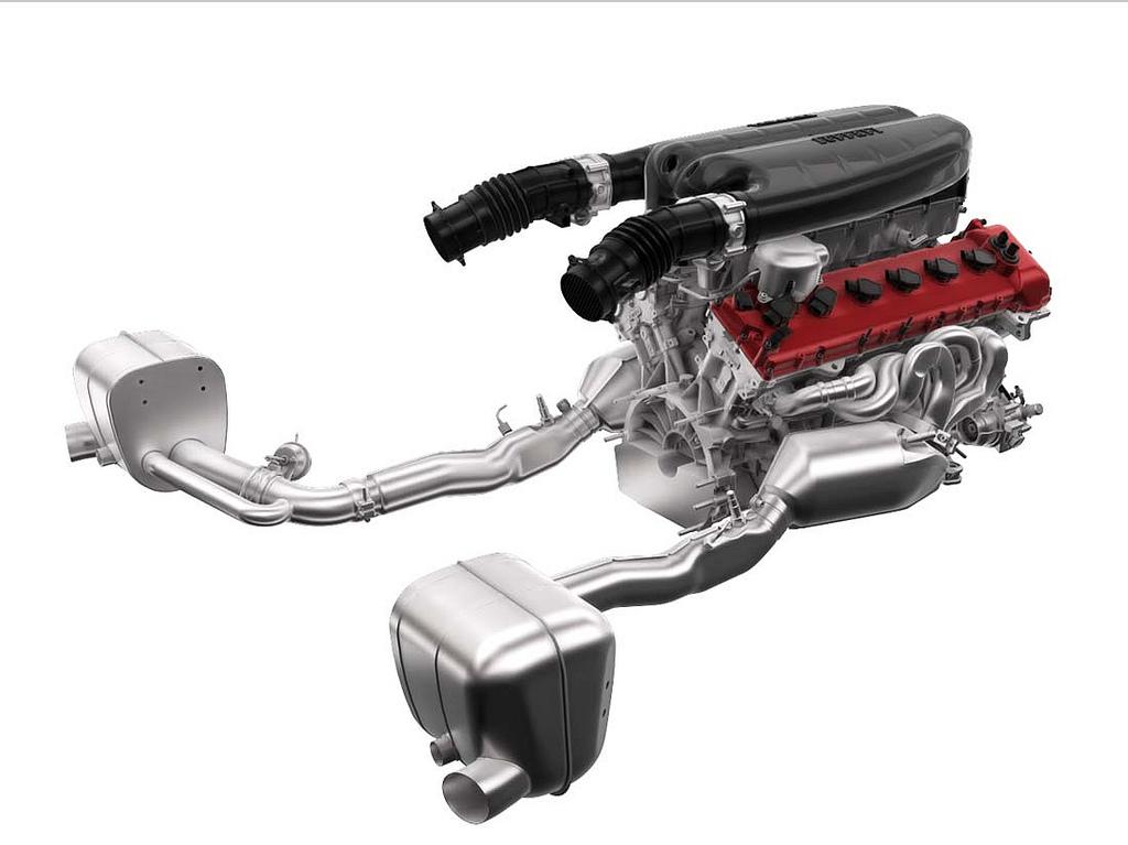 LaFerrari мотор