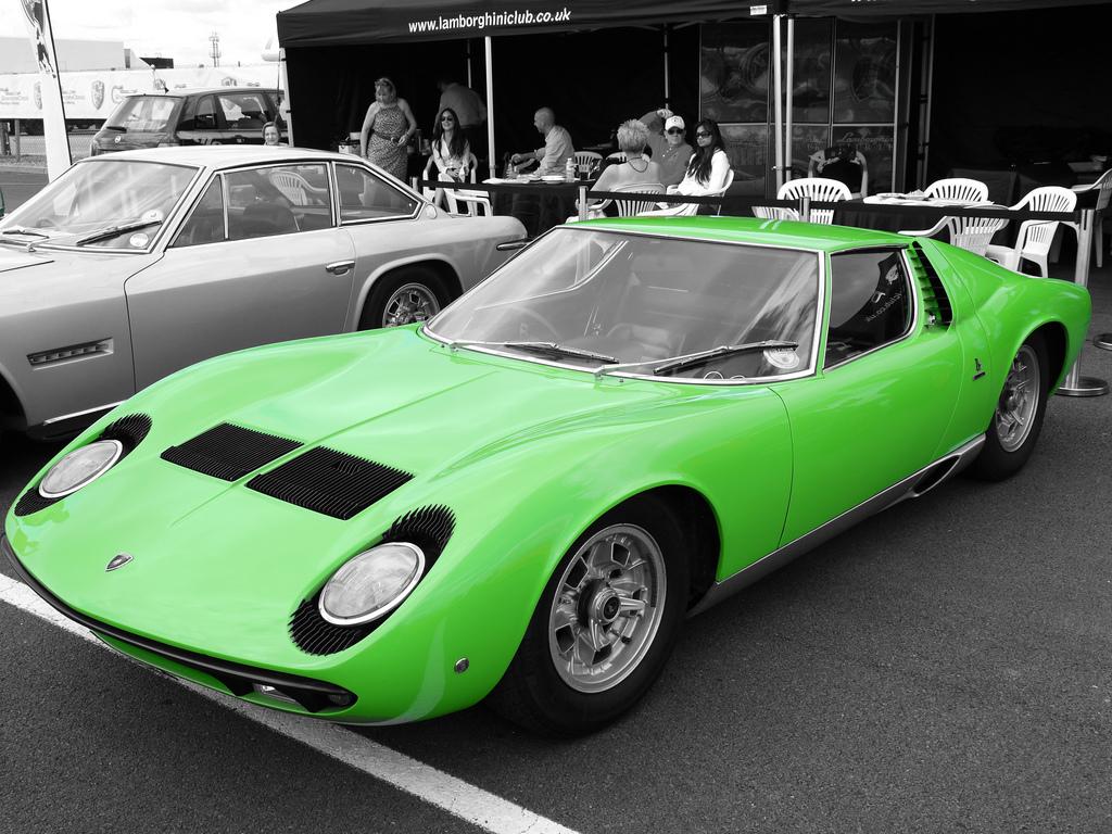 Тест Lamborghini Miura SV