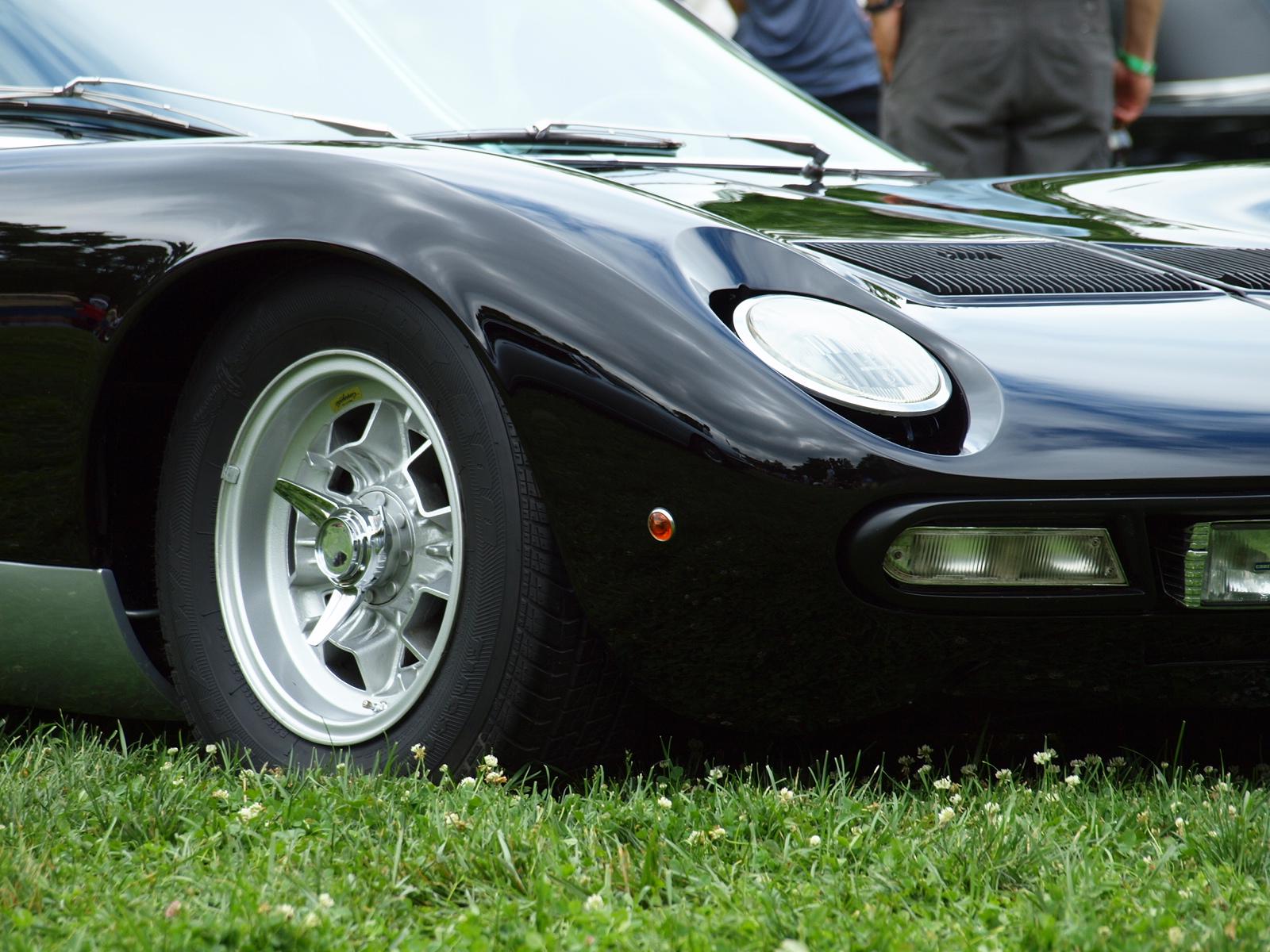 Lamborghini Miura SVJ тест