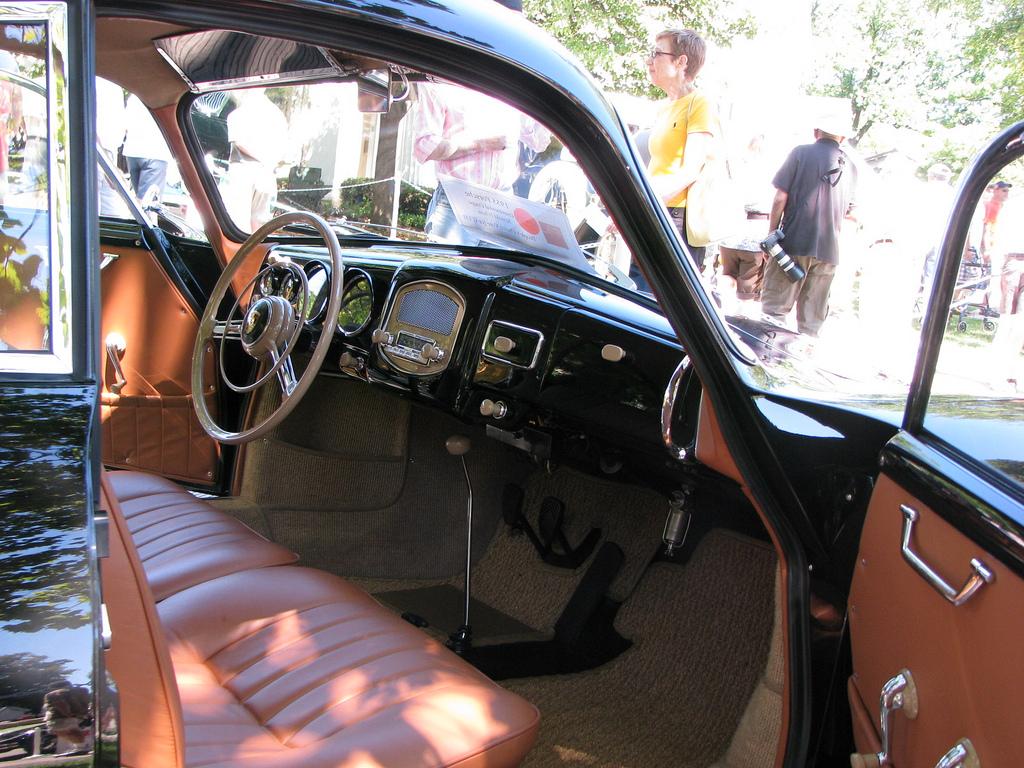 Porsche 356 салон