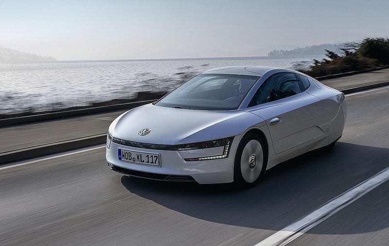 Тест Volkswagen XL1