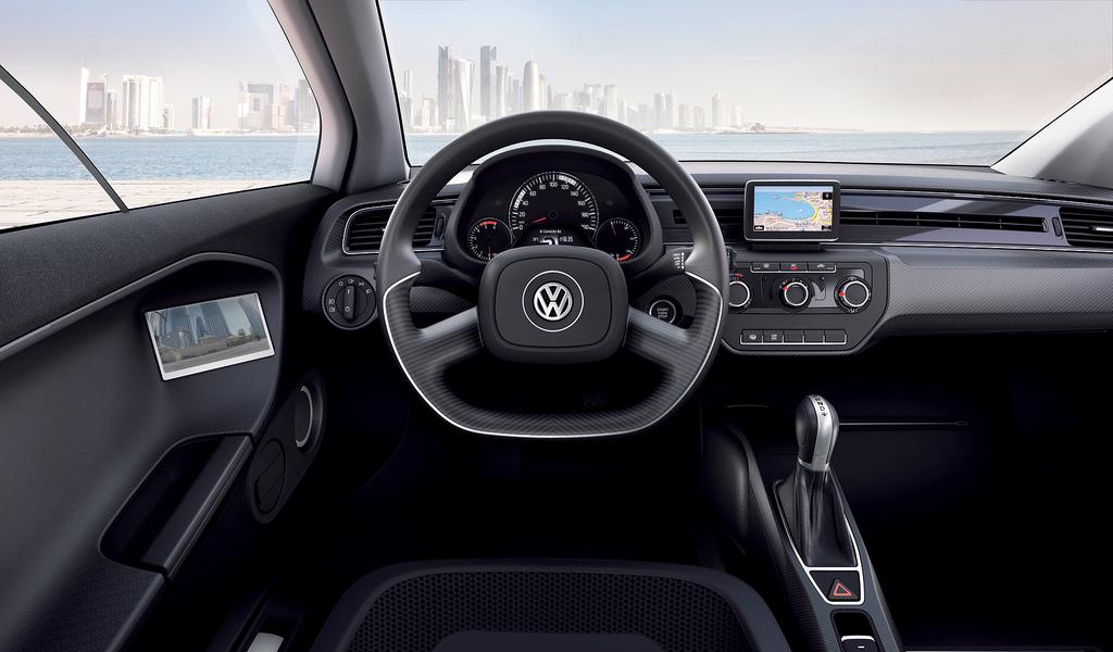 салон Volkswagen XL1
