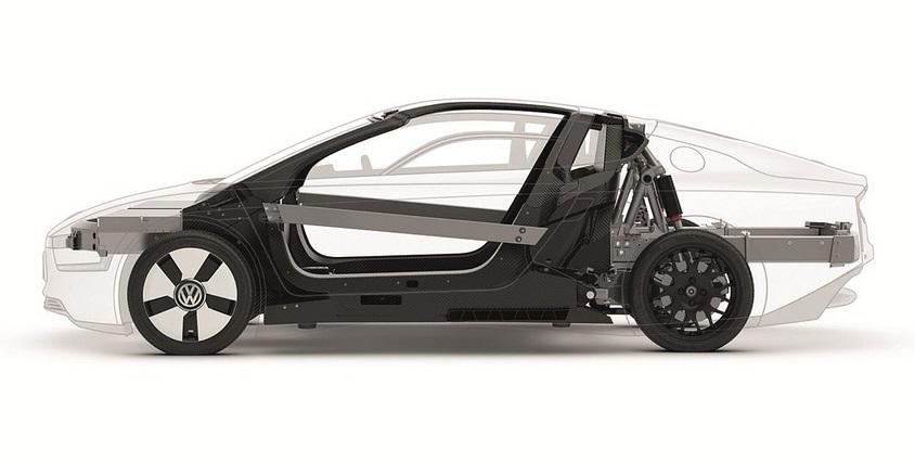 конструкция Volkswagen XL1