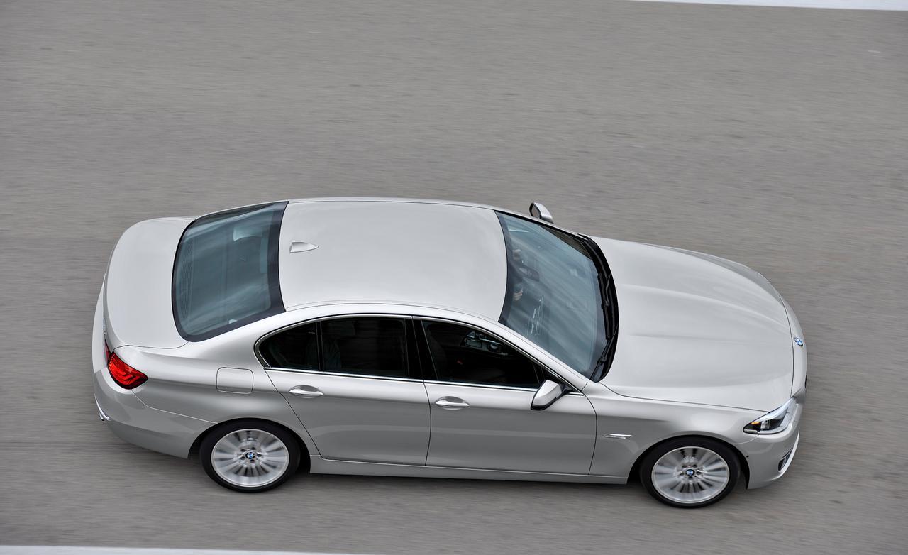 Рестайлинг BMW 5-й серии