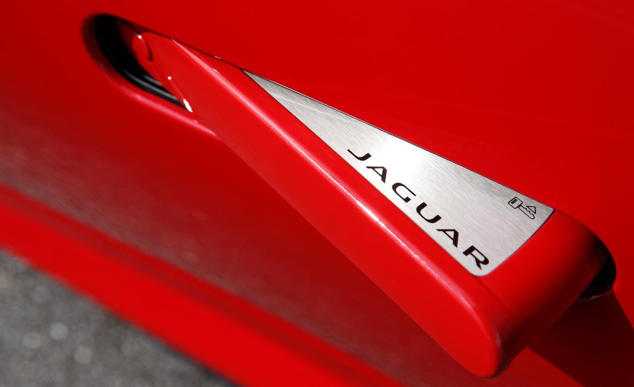 jaguar f-type ручка двери