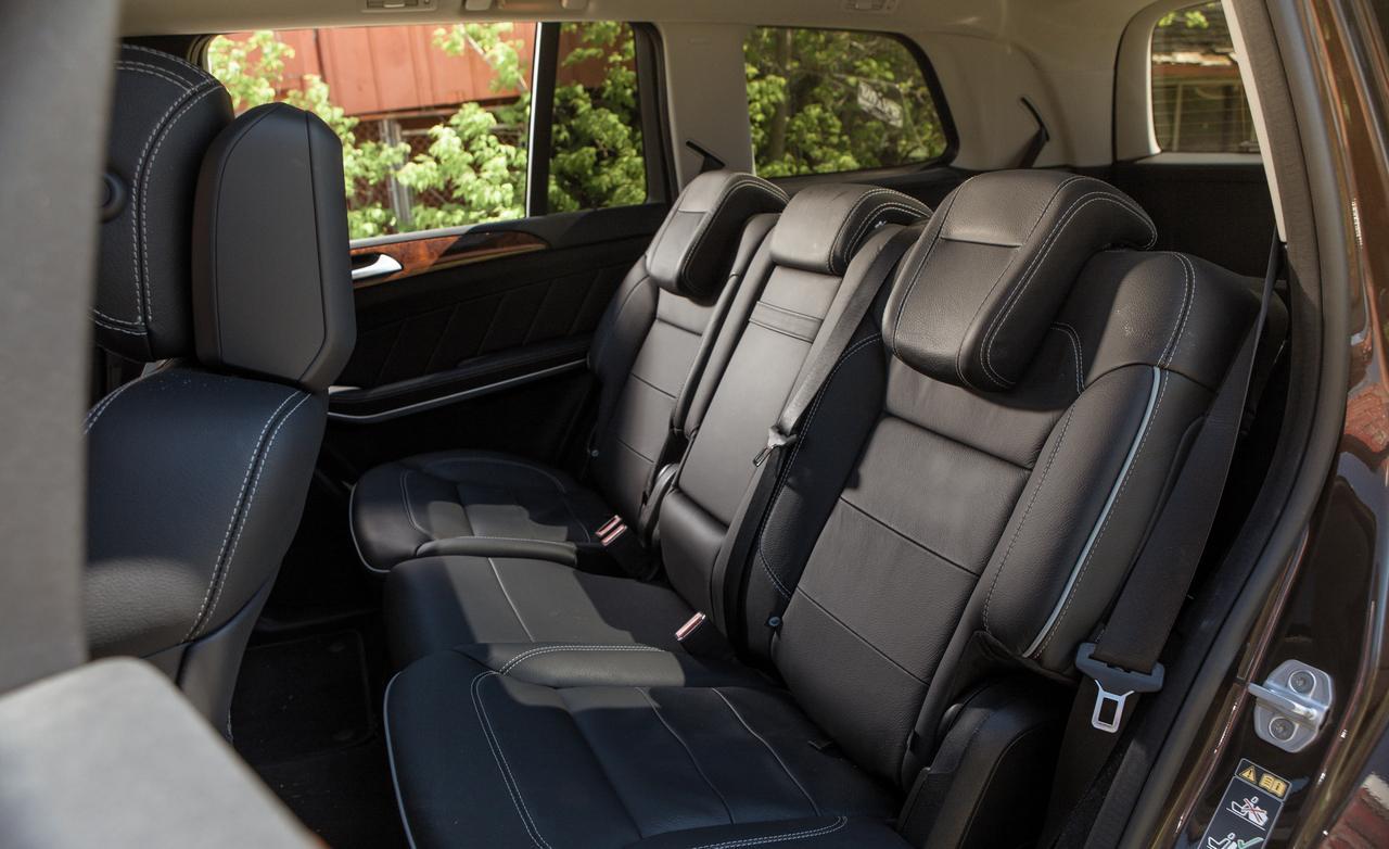 задний диван Mercedes-Benz GL
