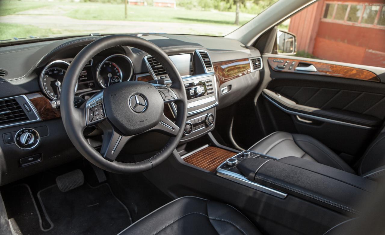 салон нового Mercedes-Benz GL