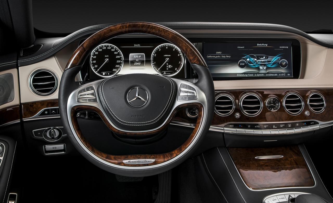 салон Mercedes-Benz - S-класс W222