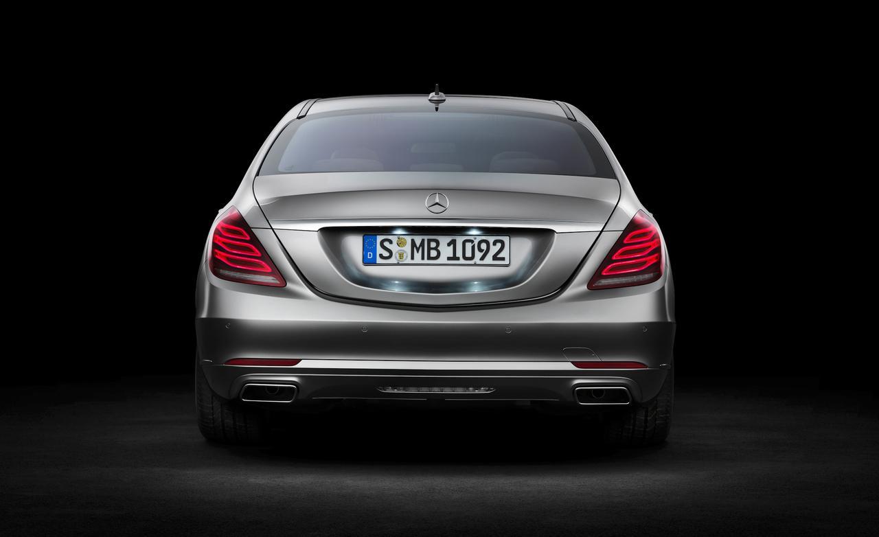 флагман Mercedes-Benz - S-класс W222