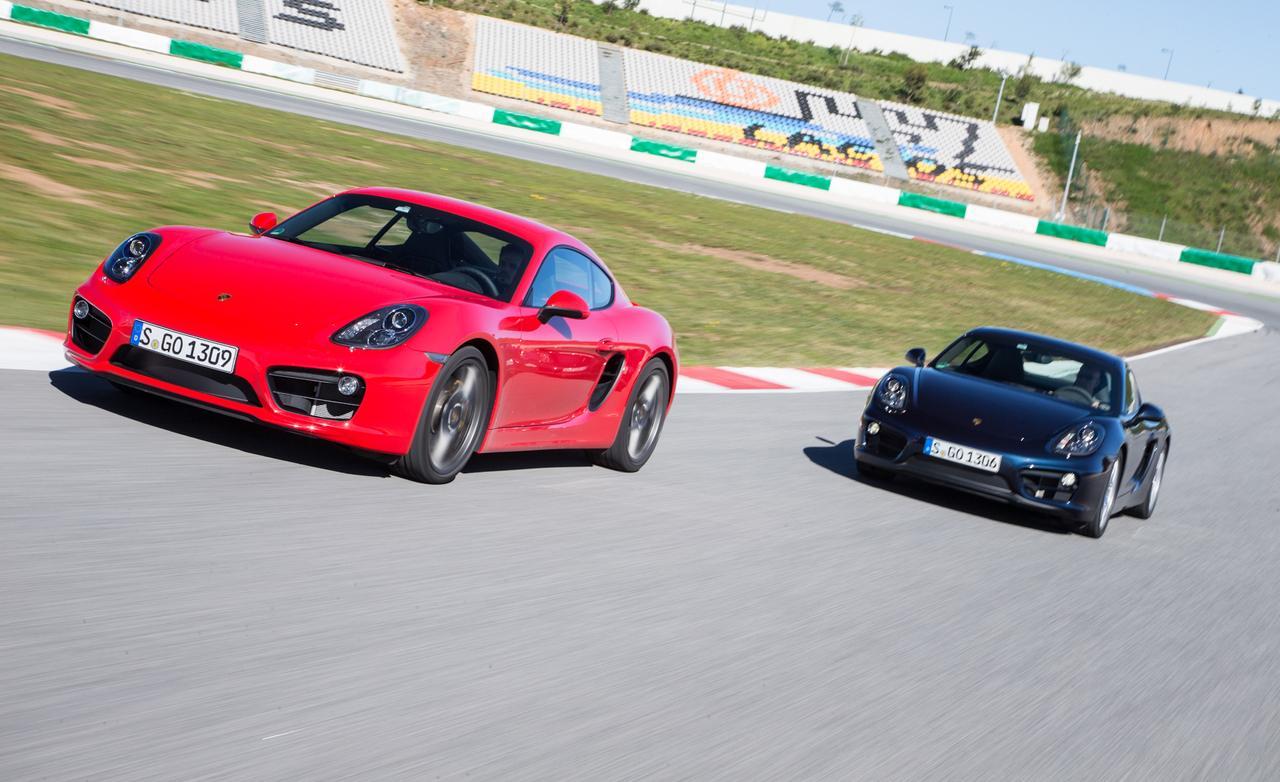 Тест обновленного Porsche Cayman