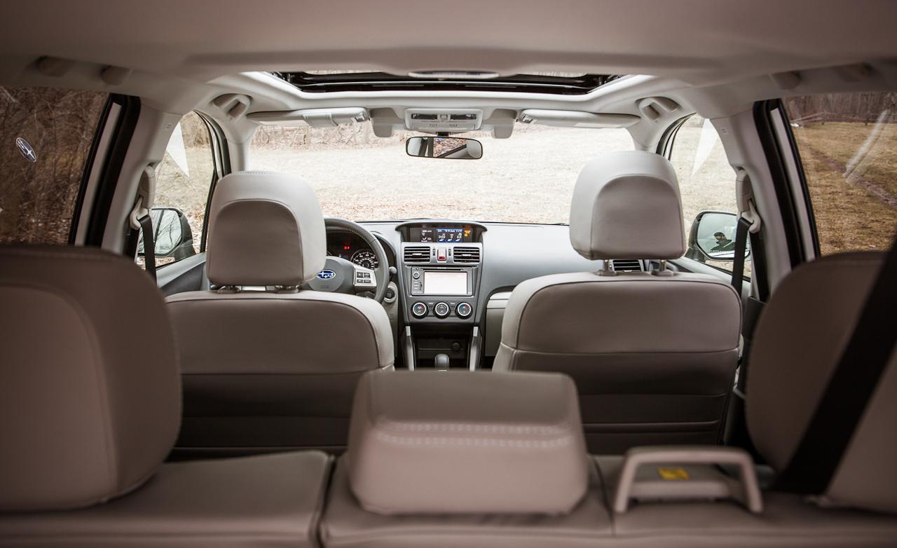 багажник Subaru Forester 4