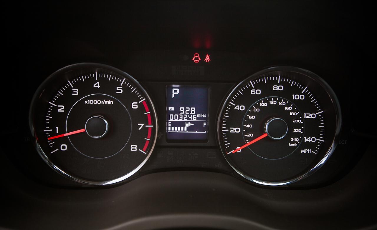 приборы Subaru Forester 4