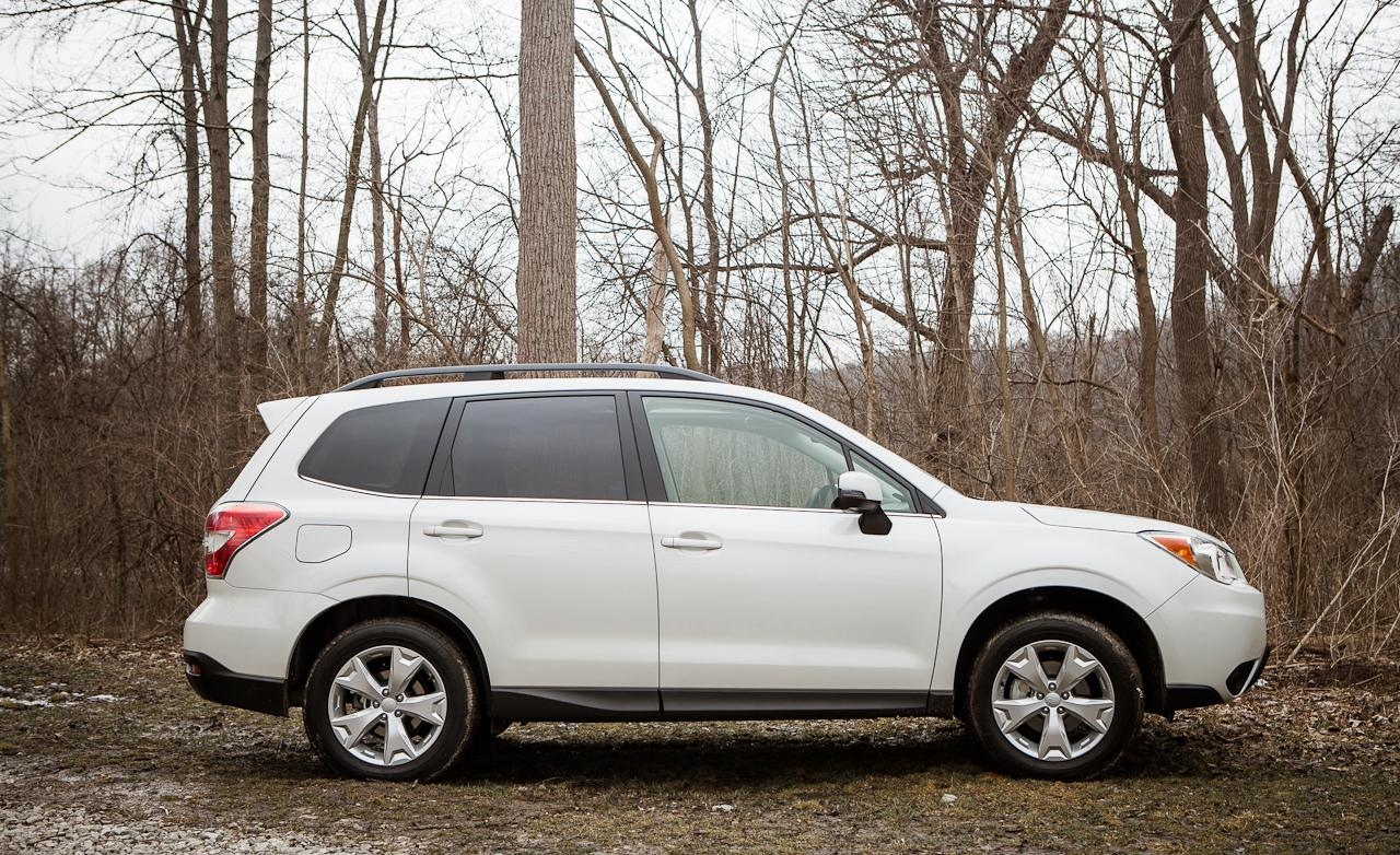тест Subaru Forester четвертой генерации