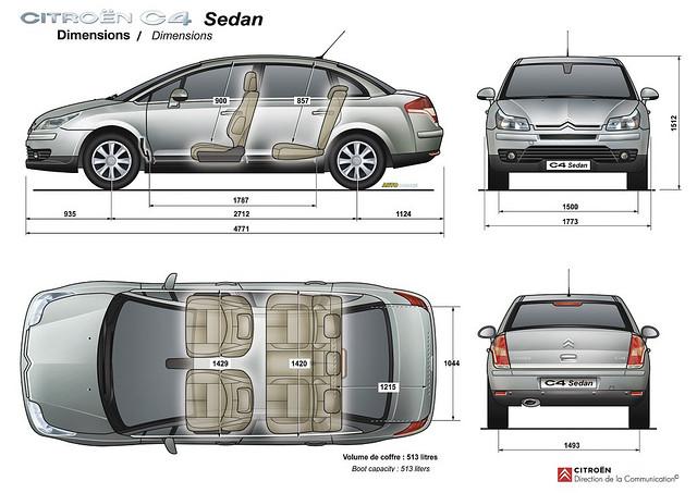 Citroen C4 Sedan схема