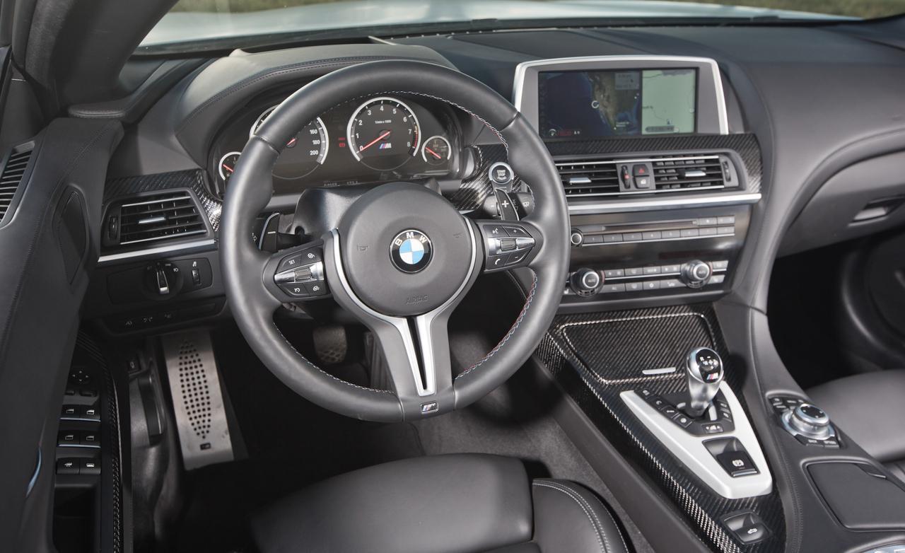 Салон BMW M6 Cabrio
