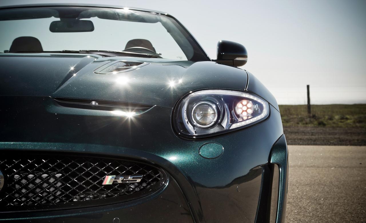 jaguar xkr-s convertible тест