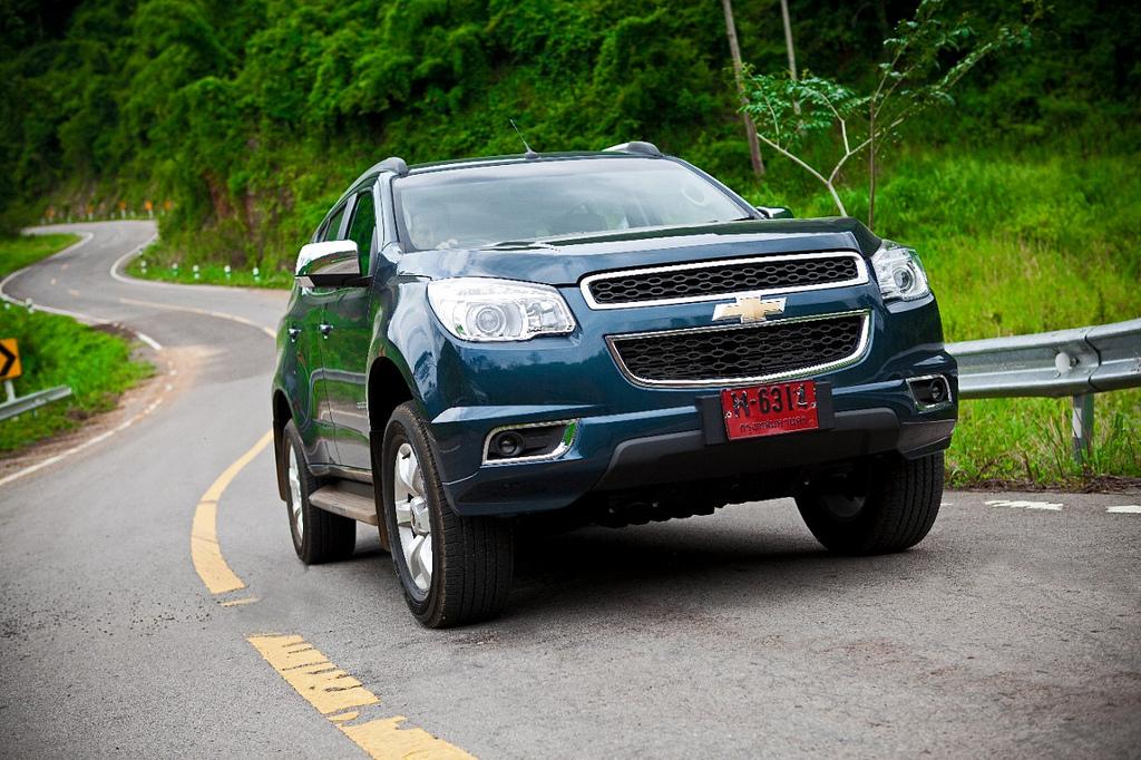 Тест нового Chevrolet Trailblazer