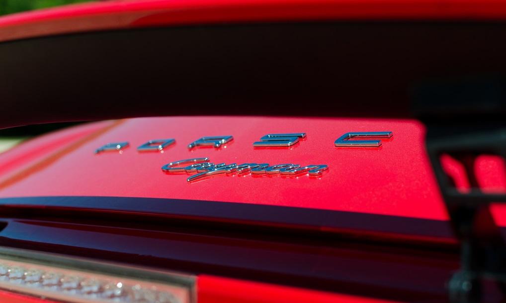 тест-драйв Porsche Cayman 981