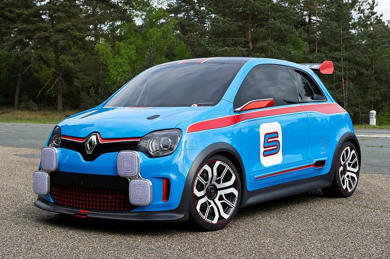 Новый Renault Twingo Twin'Run