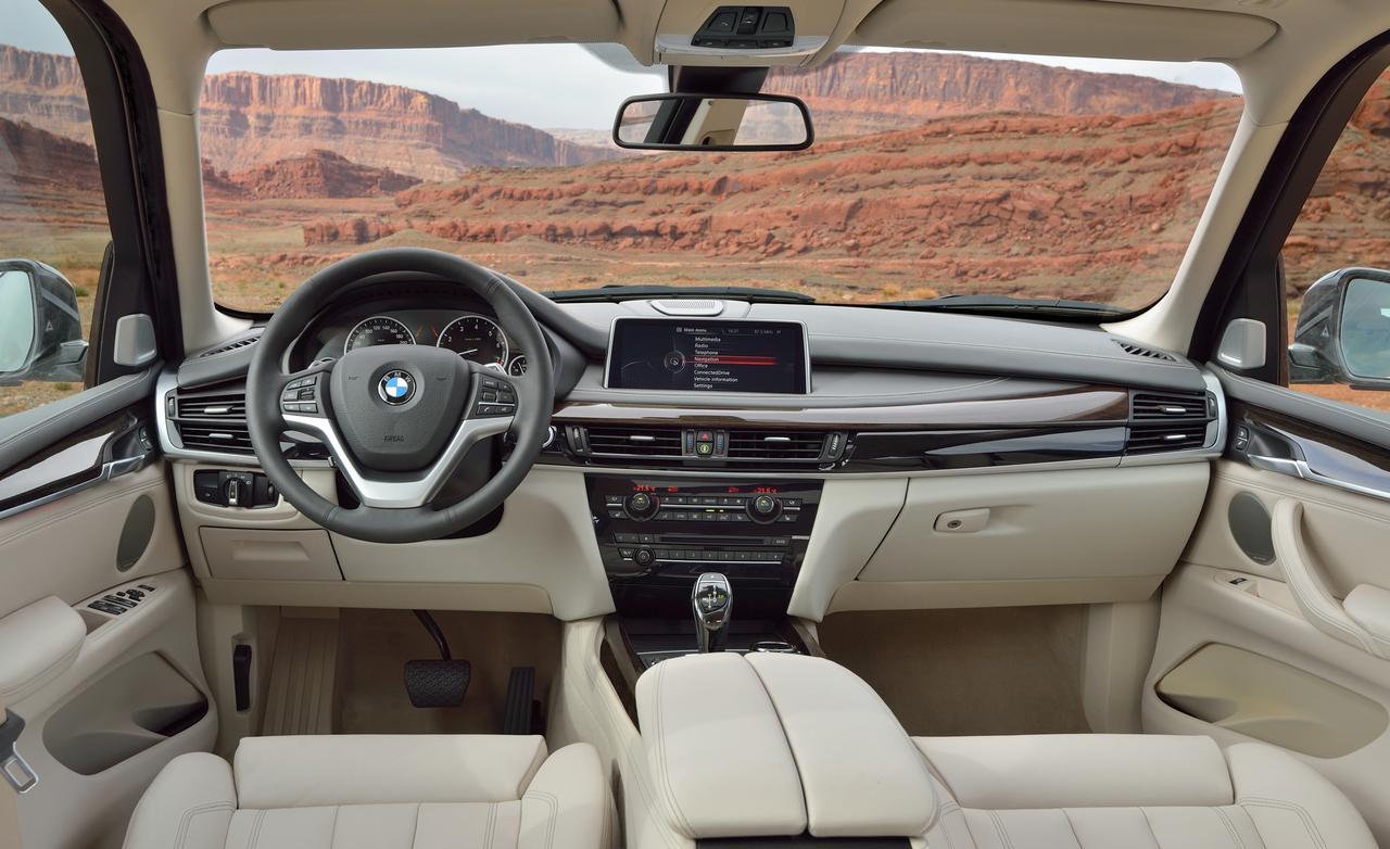 интерьер нового BMW X5
