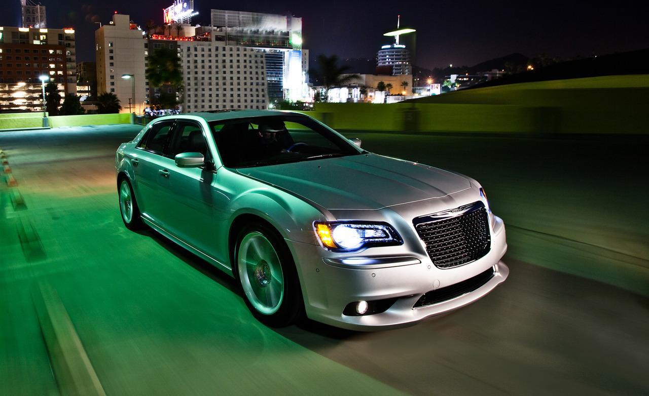 Тест Chrysler 300C SRT8