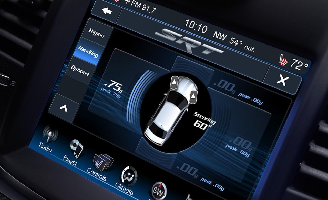 экран Chrysler 300C SRT8