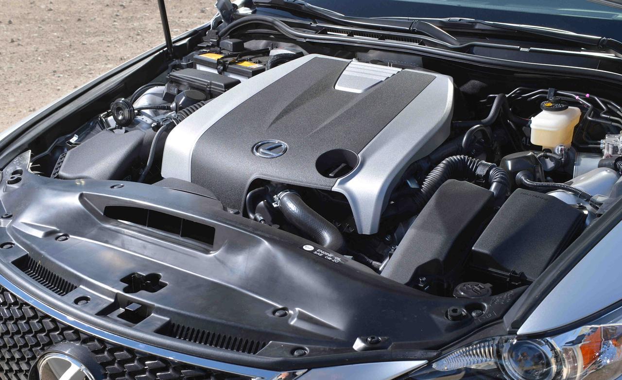 мотор lexus is