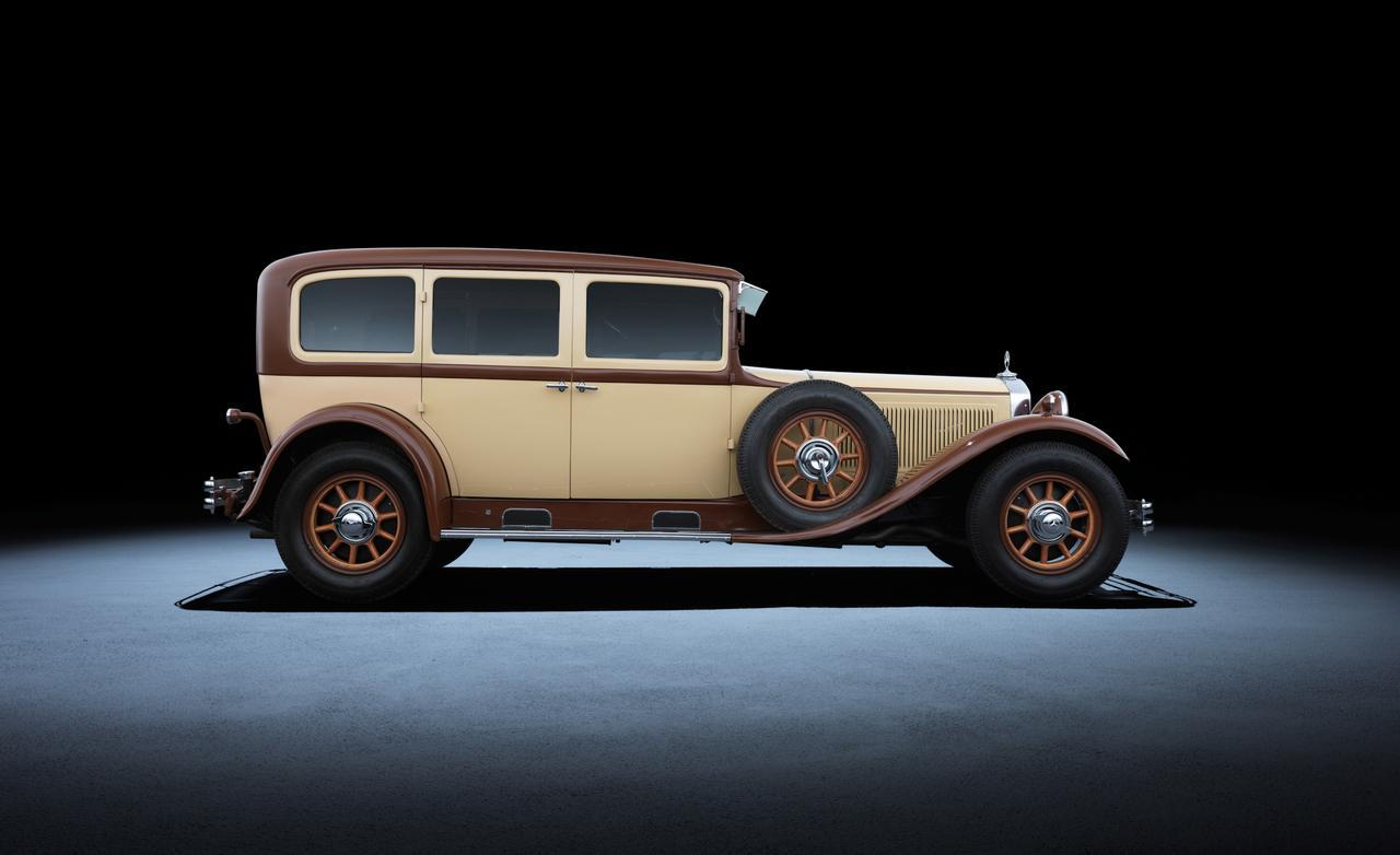1929 года mercedes-benz nurburg W08