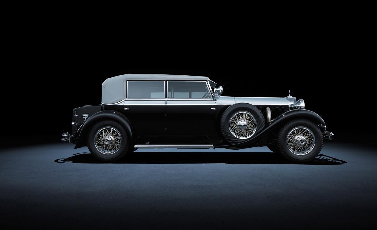 1931 года mercedes-benz 770 grand-mercedes W07