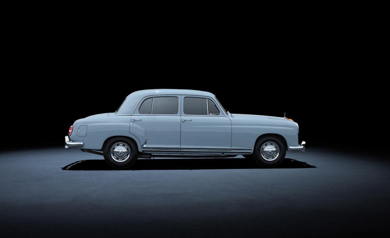 1955 года mercedes-benz 220 W180
