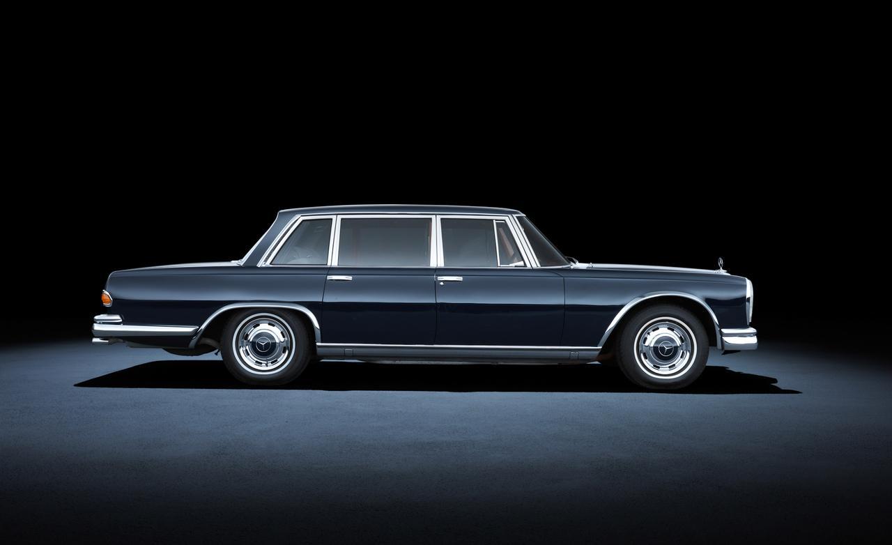 1963 года mercedes-benz 600 W100
