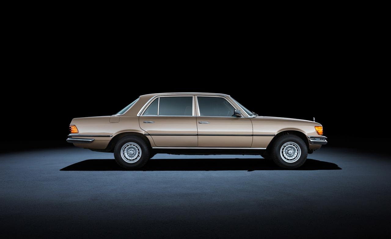 1980 года mercedes-benz 450sel 6.9 W116