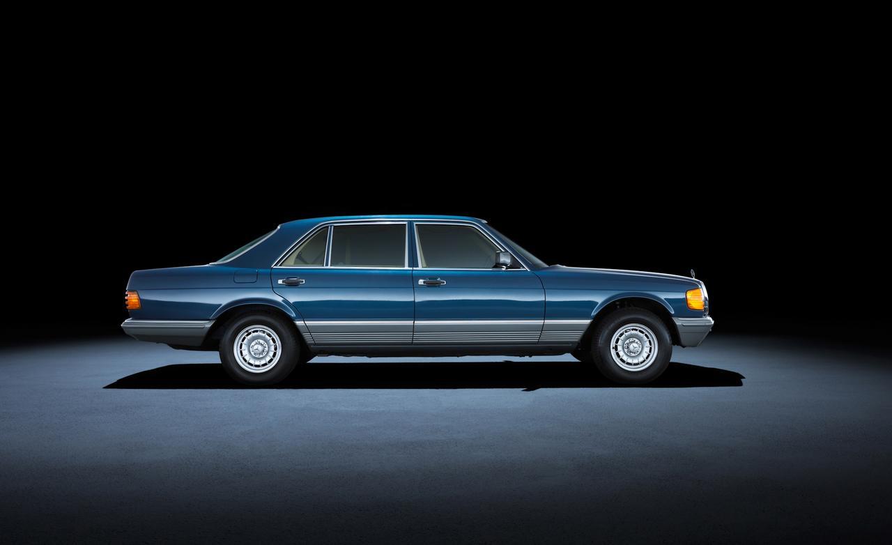 1982 года mercedes-benz-500sel W126