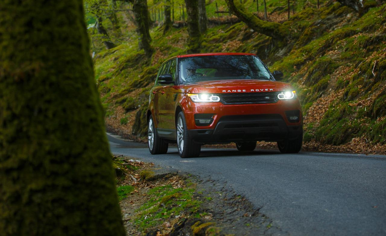 Range Rover Sport тест 2013