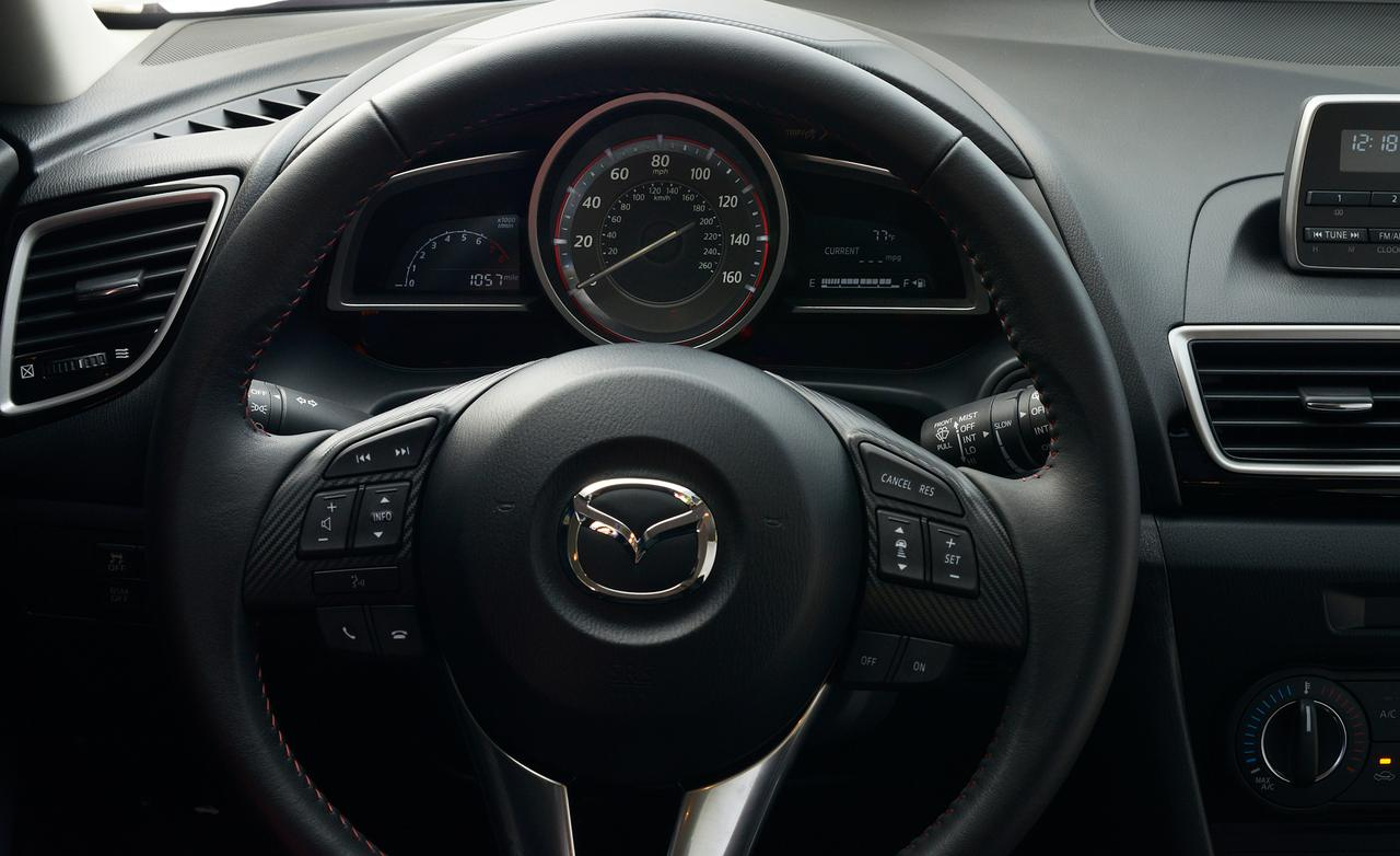 Тест новой Mazda3