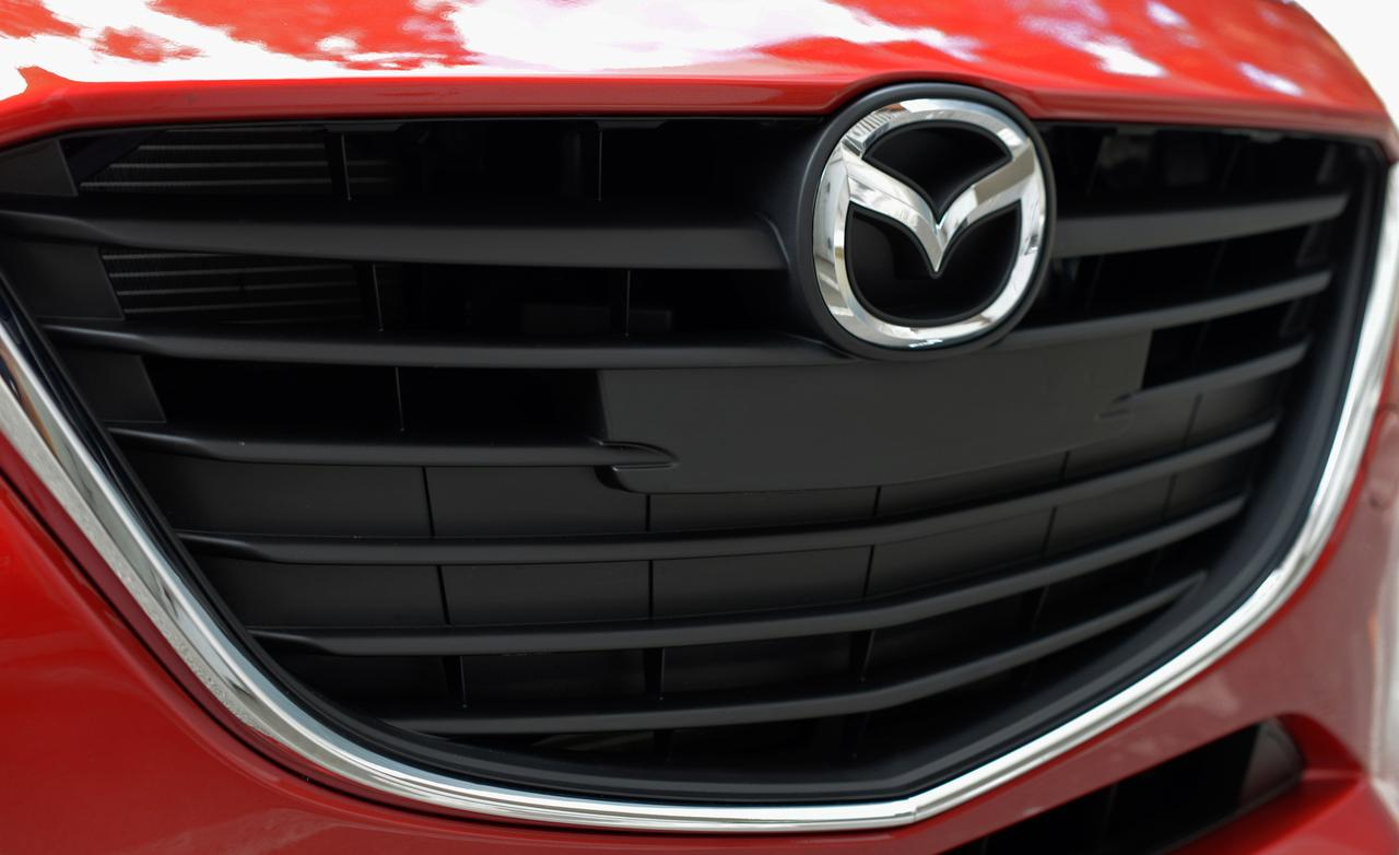 тест Mazda 3