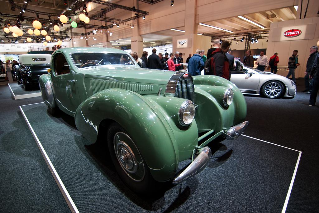 Bugatti T 57 C Coupe - Techno Classica Essen 2013