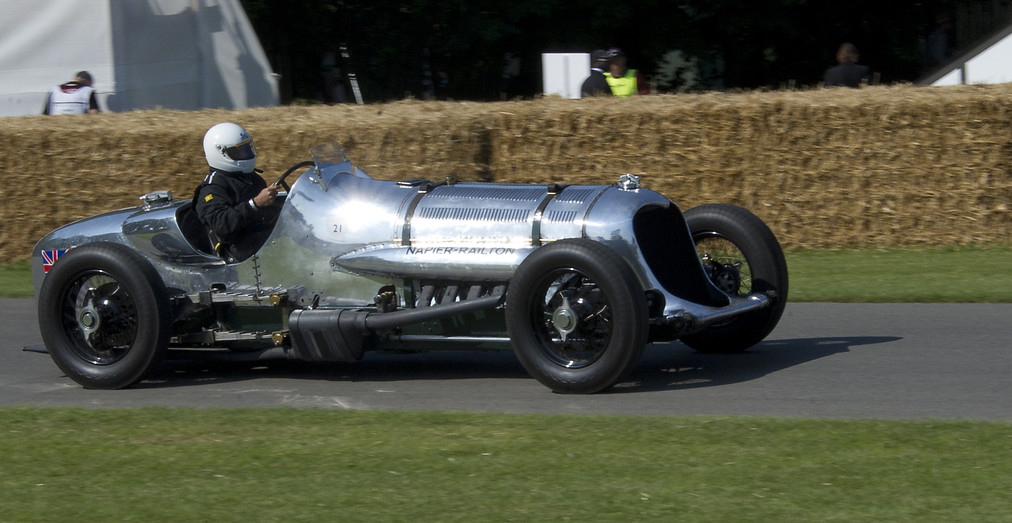 Napier-Railton на гоночном треке