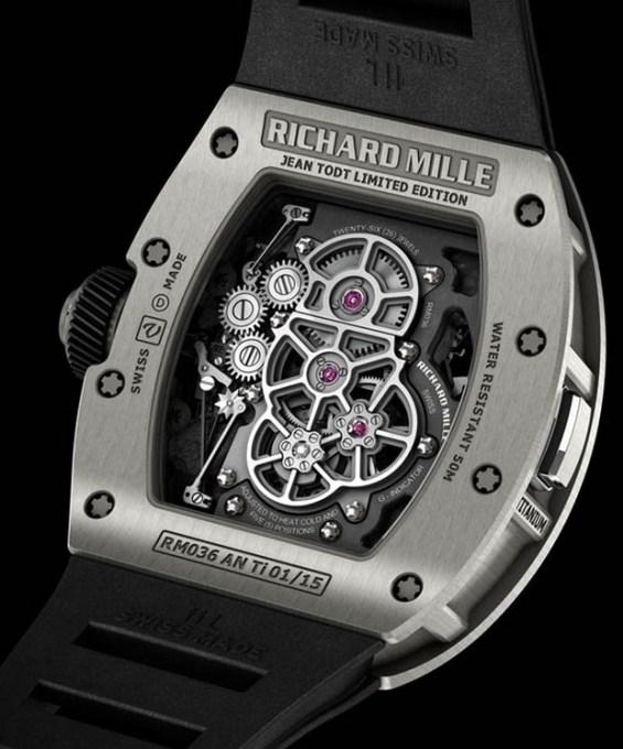 Richard Mille RM-036 Tourbillon G-Sensor Jean Todt