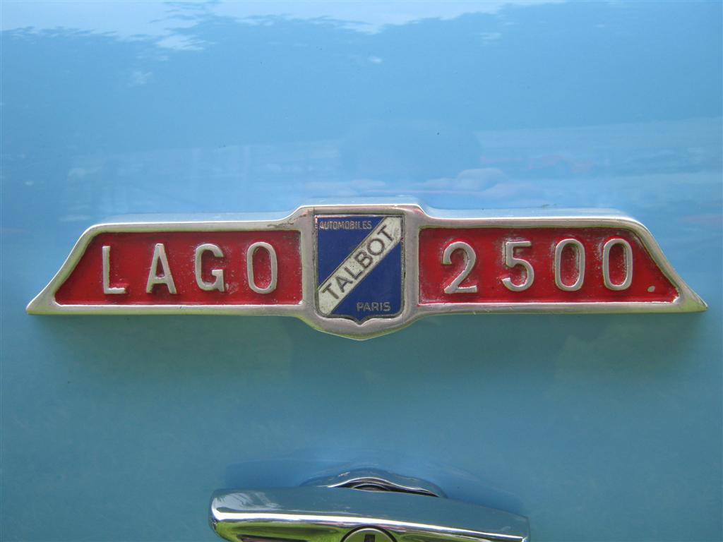 Talbot Lago America 1957 лого