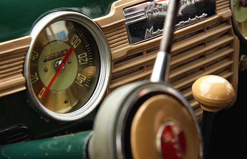 ГАЗ М-20 приборы
