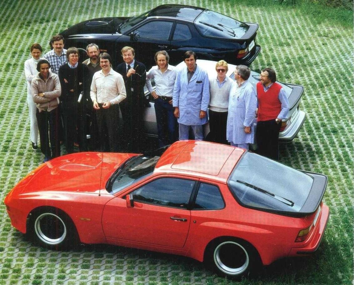 порше 924 1981