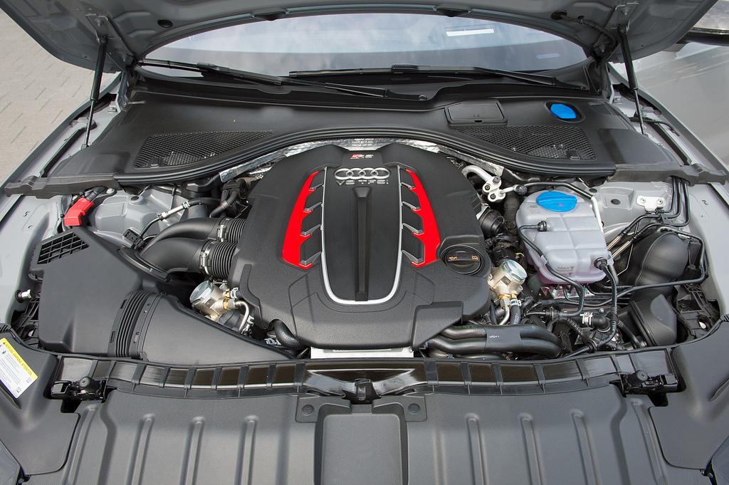 Audi RS7 мотор